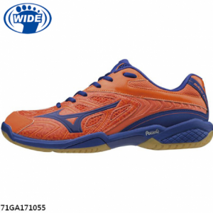 Mizuno 美津濃 Wave Fang SS2 羽球鞋 - 26-5cm, 橘