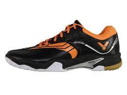 Victor勝利A830III CO 黑/亮金盞橘 超寬楦羽球鞋